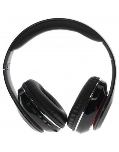 SŁUCHAWKI BEZPRZEWODOWE BLUETOOTH MP3 USB FM SD