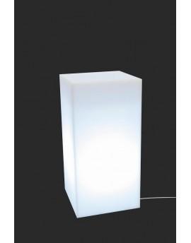 Donica TOWER POT biała light