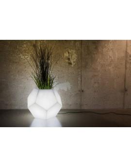Donica ALMA biała light