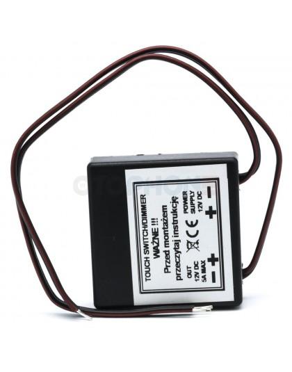 Włącznik dotykowy ze ściemniaczem do płyty meblowej 30mm do oświetlenia LED
