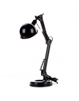 Lampka biurkowa regulowana czarna