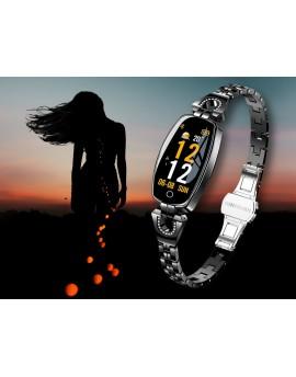 DAMSKI zegarek opaska SMARTBAND na bransolecie