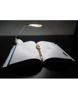 BIURKOWA mała lampka LED na baterie 3xAAA